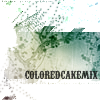Colored Cake Mix
