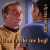 Mistress Marilyn: Kirk--Beg