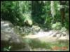 river, rocks, sunny