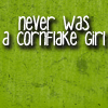 Marcy: Cornflake Girl