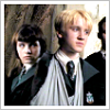 Draco/Pansy: meaningful glances