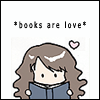 Ximena: *books are love*