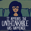 Kayli: it means dance, dammit!: daria unthinkable // by me