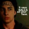 Ballz on ur face