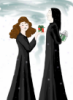 Hermione presents Severus with gift