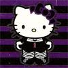 A little dreamer: Goth // Hello Kitty