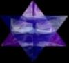 Merkaba (blue/purple)