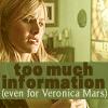 Amanda E.: Veronica Mars- TMI