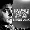 makes the panties drop