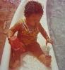 Baby Drea at pool