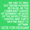 TDS - vote for reagan