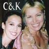 Christy and Kristine
