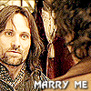 Me: aragorn/frodo - marry me