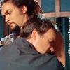 McKay-manly hug
