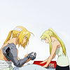 i might be barely breathing, but i'm not dead.: winry+ed // i'll look after you