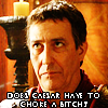 Does Caesar Have To Choke A Bitch?