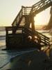 beach stair