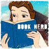 Belle book nerd