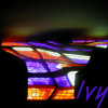 Ivy: stained glass