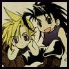 escuro_sama: Zack/Cloud - Chibi <3