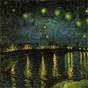 Starry night over rhone