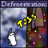 sluggy, defenestration, random