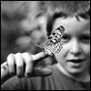 boy w/butterfly