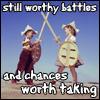 kids with swords