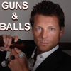 showmewrtr: Jamie Bamber - Guns and Balls