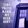 redheadedali: Time travel = headache