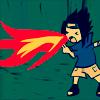 fiery sasuke
