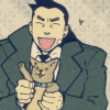 Missle: *woof!*, Gumshoe: PUPPY POWER!!