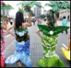flowered mermaids