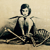 sitting on skeletons