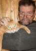 Рыжий, кот, Ладожское озеро, коты. подлёдная рыбалка, спасработы