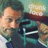 drunk face