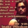 """S.D. """"Snake"""" Plissken"""