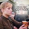 Sunny: Veronica Mars yummy coffee