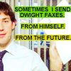 krispy: the office: faxes from the future