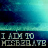completely corrupted.: misbehave