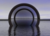 mirrored portal