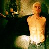 Buffy: Spike shirtless