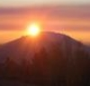 babsbybend: sunrise over Pilot Butte