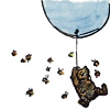 Pooh with Balloon