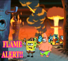 Des: Spongebob Flame Alert!!