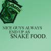 slytherin snake food