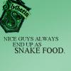 slytherin snake food