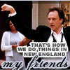 Josh Lyman, The West Wing, New England