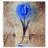 синий тюльпан