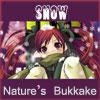 bukkake, snow